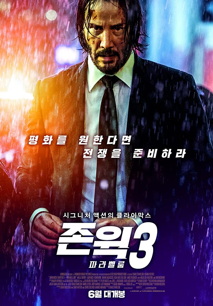John Wick: Chapter 3: Parabellum 2019 (Hindi Dubbed) BluRay 720p