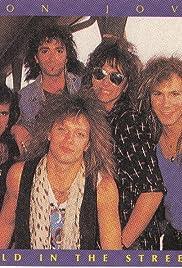 Bon Jovi: Wild in the Streets Poster