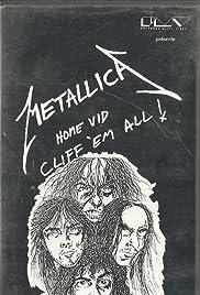 Metallica: Cliff 'Em All! Poster