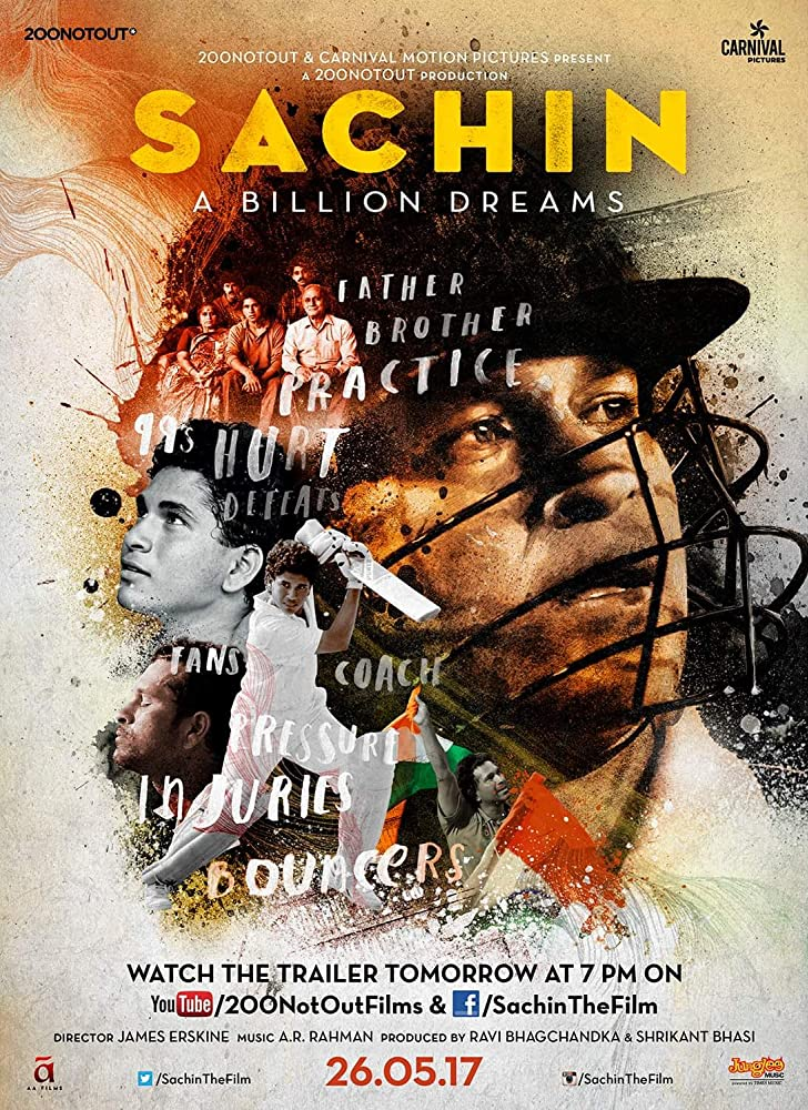 Sachin: A Billion Dreams 2017 Movie DvdRip 300mb 480p 700mb 720p