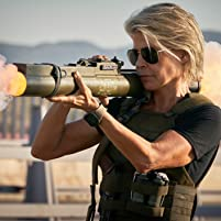 Linda Hamilton in Terminator: Dark Fate (2019)