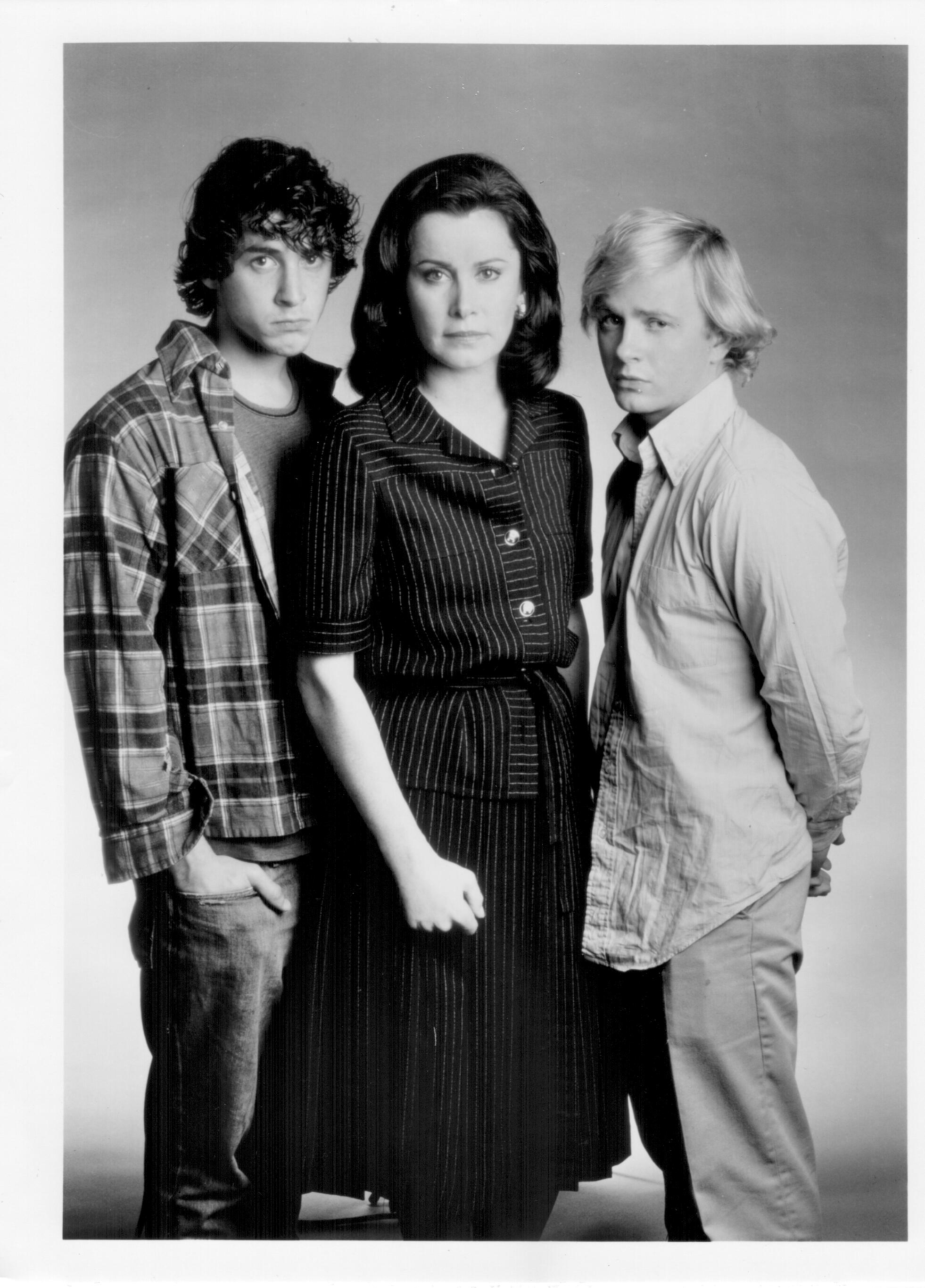 Doug McKeon, Corey Parker, and Stefanie Powers in At Mother's Request (1987)