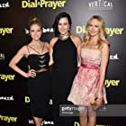 (L-R) Actress Brittany Snow, director Maggie Kiley and actress Anna Camp arrive at the Los Angeles premiere of 'Dial A Prayer' at the Landmark Theater on April 7, 2015 in Los Angeles, California. (Photo by Amanda Edwards/WireImage)