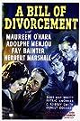 A Bill of Divorcement (1940) Poster