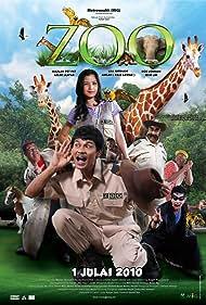 Azlee Senario, Mazlan Senario, Lisa Surihani, and Bob Lokman in Zoo (2010)