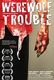 Kelly Smart, Matthew John Lawrence, Charlie Anderson, Nancy Melchert, Rob Ribera, Jeff Boedeker, and Ryan Conrath in Werewolf Trouble (2009)