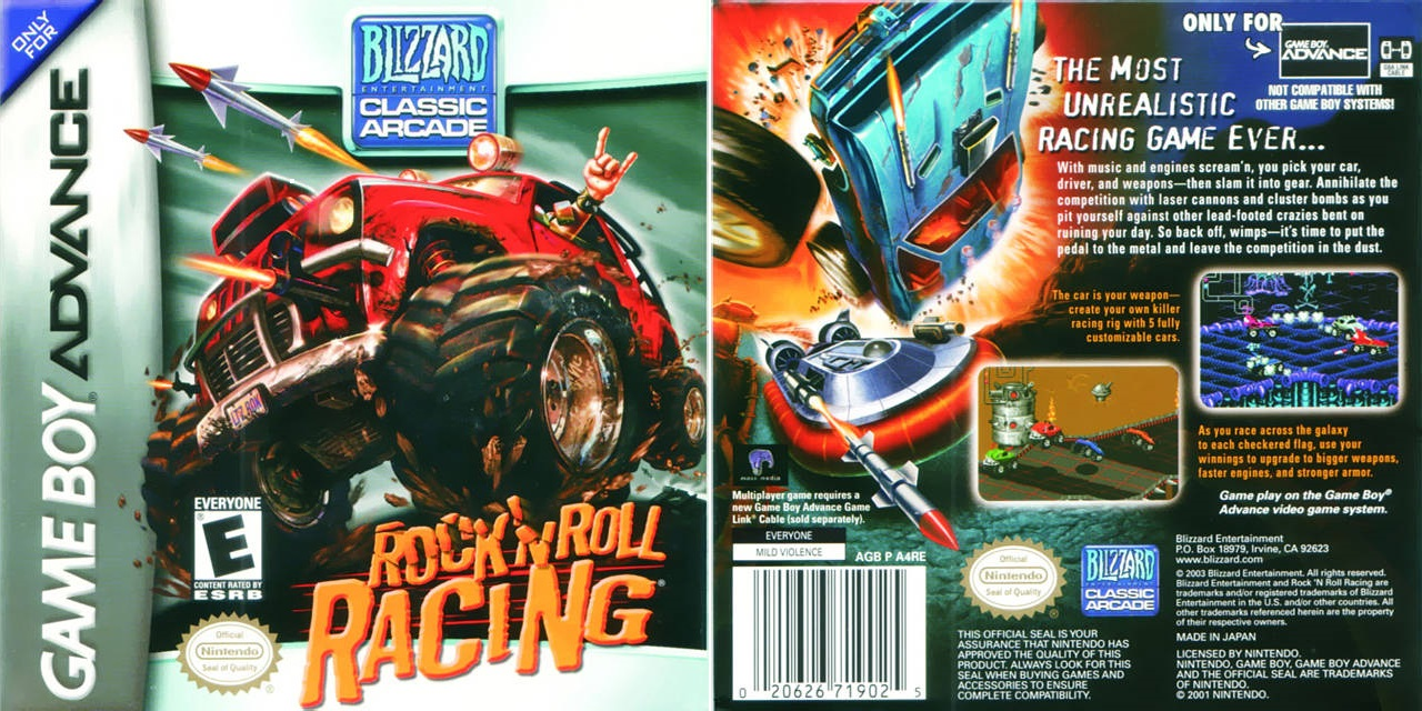 Rock And Roll Games >> Rock N Roll Racing Video Game 1993 Photo Gallery Imdb