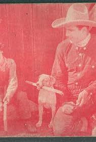 Frankie Darro and Tom Tyler in The Wyoming Wildcat (1925)