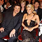 Nick Lachey and Jessica Simpson at an event for The 32nd Annual American Music Awards (2004)