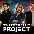 Grant Imahara, Tory Belleci, and Kari Byron in White Rabbit Project (2016)