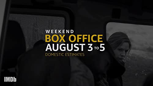 Weekend Box Office: August 3 to 5