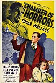 Leslie Banks, Richard Bird, and Lilli Palmer in The Door with Seven Locks (1940)