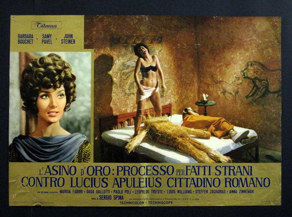 Barbara Bouchet in L'asino d'oro: processo per fatti strani contro Lucius Apuleius cittadino romano (1970)