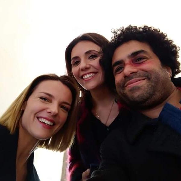 Christiane Filangieri, Serena Rossi, and Miloud Mourad Benamara in Mina Settembre (2021)