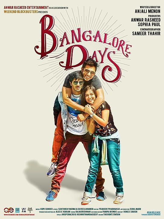 Bangalore Days (2014) Hindi Dubbed