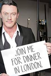 Luke Evans Invites You to Join Him for a Candlelit Dinner Poster