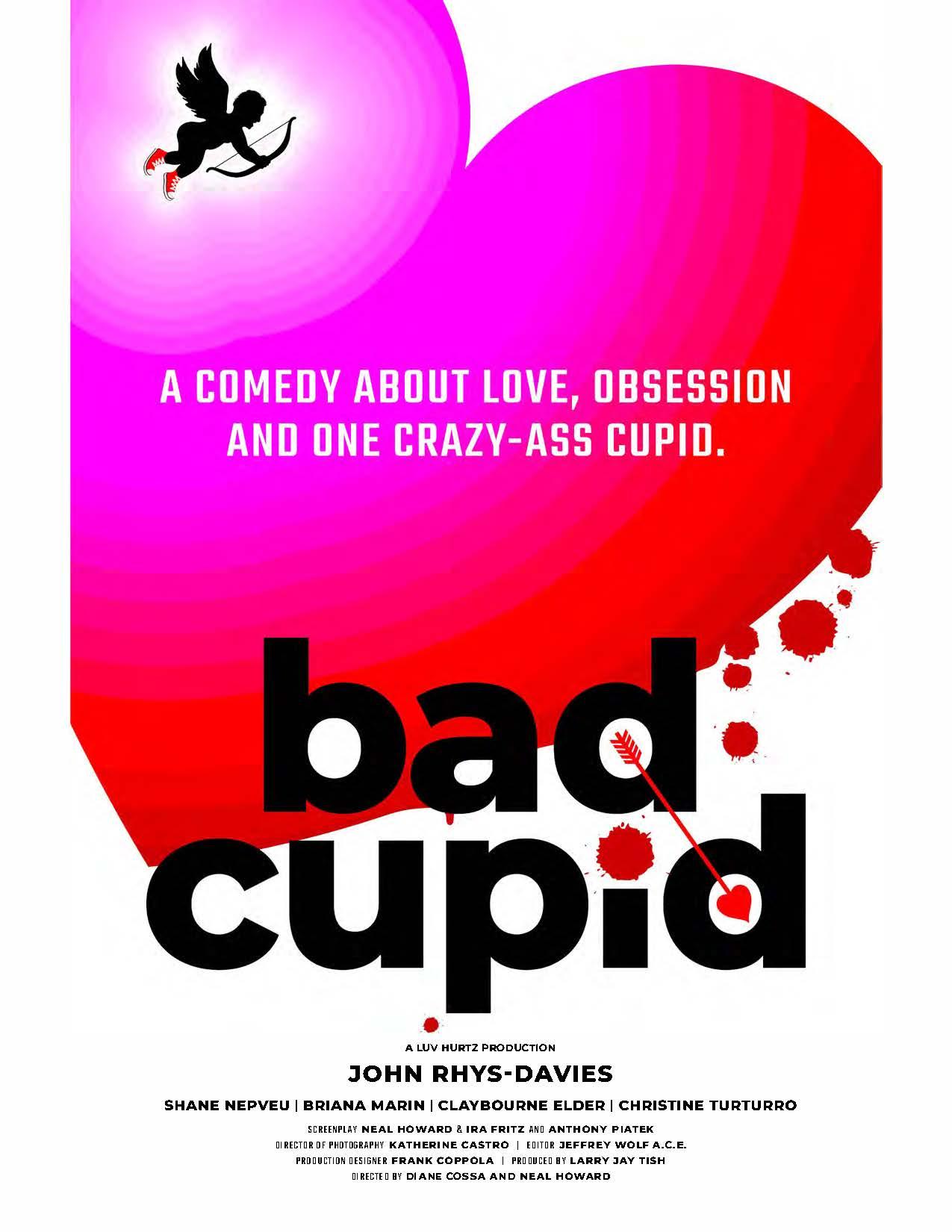 Bad Cupid (2021) WebRip 720p Dual Audio [Hindi (Voice Over) Dubbed + English] [Full Movie]