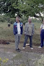 Ferenc Borbiczky, Gergely Kaszás, and Balázs Lázár in A Herner Ferike faterja (2021)