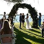 Tori Anderson, Gillian Doria, Julia Borsellino, and Sean Colby in You May Kiss the Bridesmaid (2021)