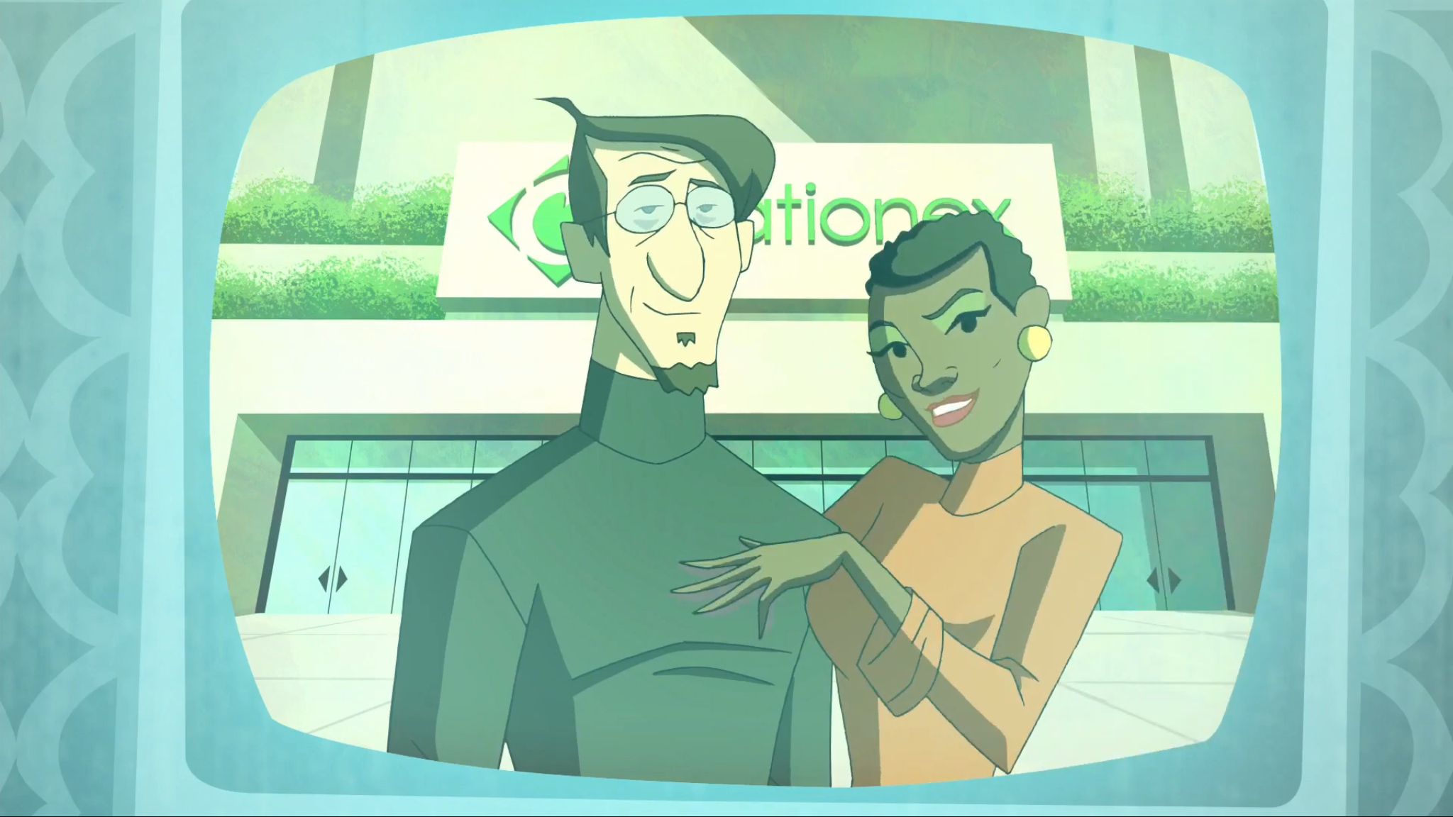 Vivica A. Fox and Lewis Black in Scooby-Doo! Mystery Incorporated (2010)