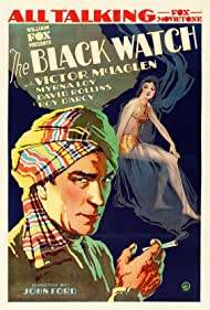Myrna Loy and Victor McLaglen in The Black Watch (1929)