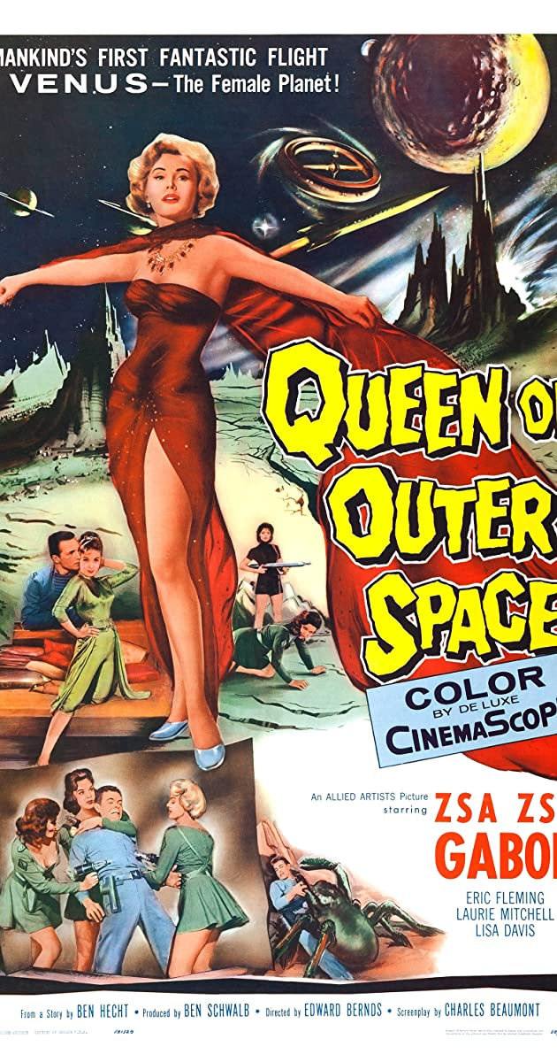 Subtitle of Queen of Outer Space
