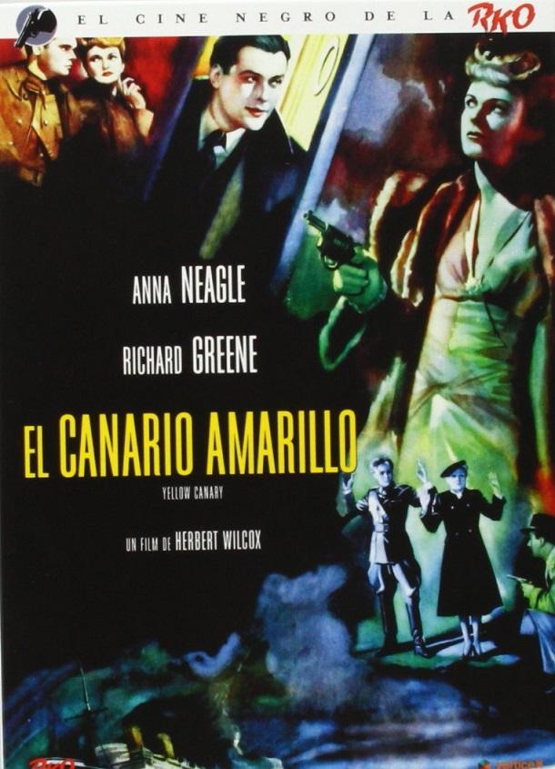 Albert Lieven, Anna Neagle, and Nova Pilbeam in Yellow Canary (1943)