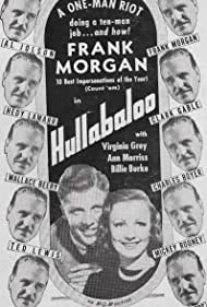 Dan Dailey, Virginia Grey, and Frank Morgan in Hullabaloo (1940)