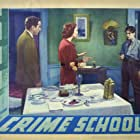 Humphrey Bogart, Billy Halop, and Gale Page in Crime School (1938)