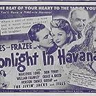 Zedra Conde, William Frawley, Jane Frazee, and Allan Jones in Moonlight in Havana (1942)