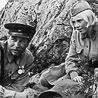 Elena Drapeko and Andrey Martynov in A zori zdes tikhie (1972)