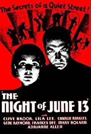 The Night of June 13 Poster