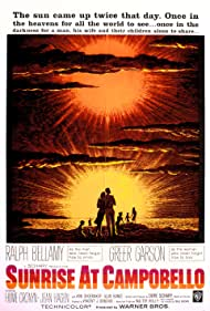 Ralph Bellamy, Hume Cronyn, Greer Garson, Alan Bunce, Jean Hagen, and Ann Shoemaker in Sunrise at Campobello (1960)