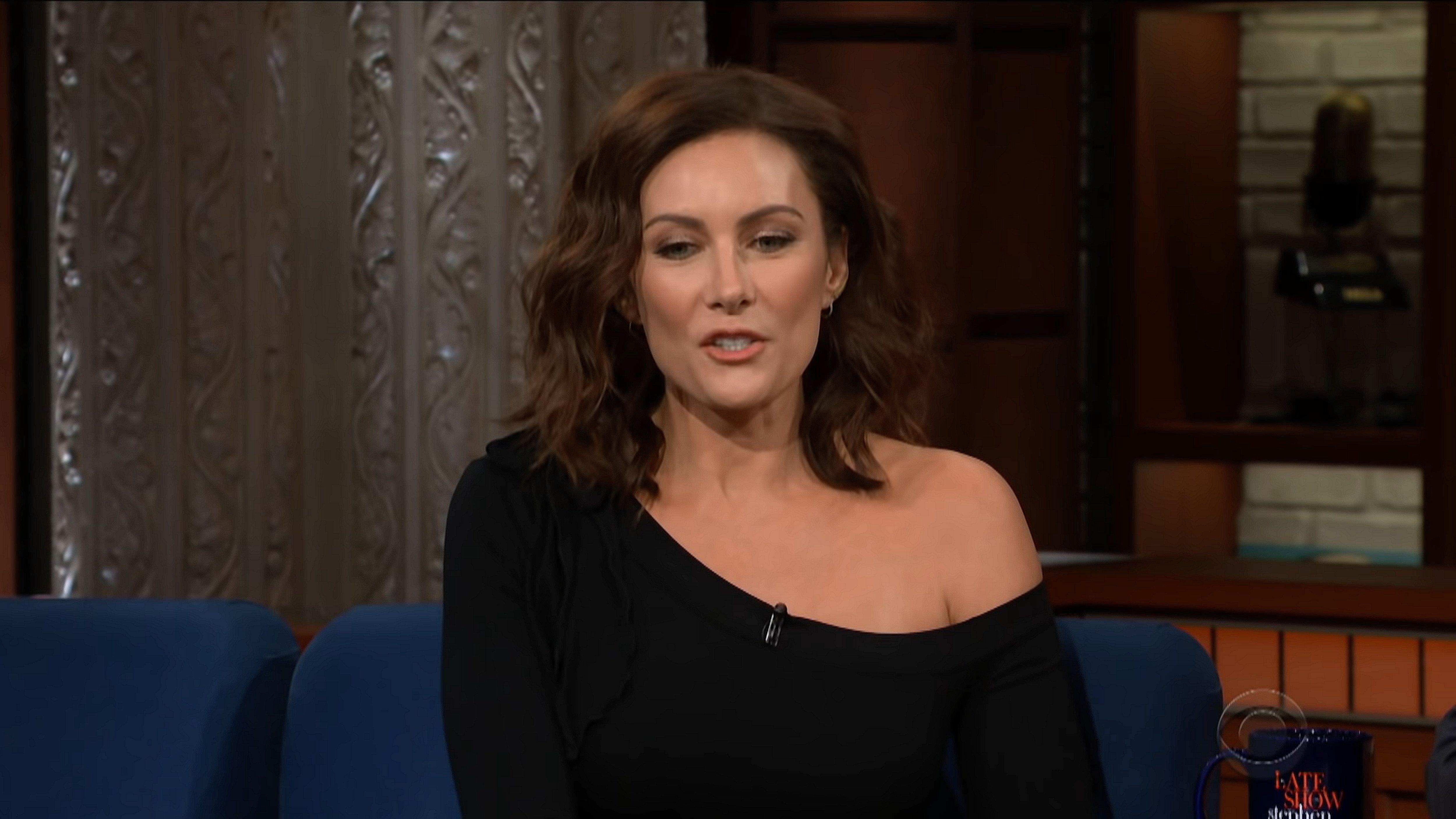 "The Late Show with Stephen Colbert"" Laura Benanti/Jon Stewart/Jon Batiste &  Stay Human (TV Episode 2018) - IMDb"