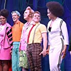 Gavin Lee, Wesley Taylor, Christina Sajous, Danny Skinner, Ethan Slater, Brian Ray Norris, and Jai'Len Josey in The SpongeBob Musical: Live on Stage! (2019)