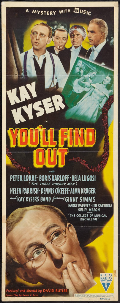 You'll Find Out (1940)