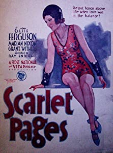 Recommended sites for downloading movies Scarlet Pages USA [hd1080p]
