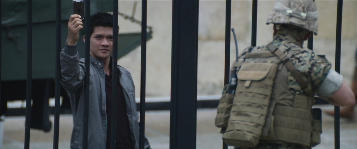 Iko Uwais in Mile 22 (2018)