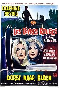 Danielle Ouimet and Delphine Seyrig in Les lèvres rouges (1971)