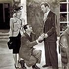 Ricardo Cortez, Adele Mara, and William Marshall in Blackmail (1947)