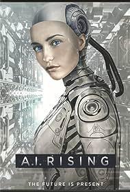 Sebastian Cavazza, Stoya, and Marusa Majer in A.I. Rising (2018)