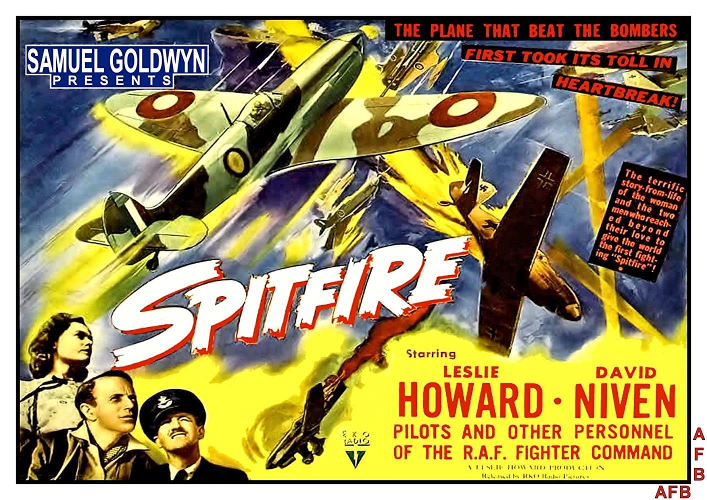 War Movie : The First of the Few aka Spitfire (1942)