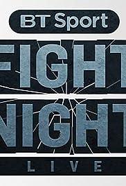 BT Sport Fight Night Live Poster