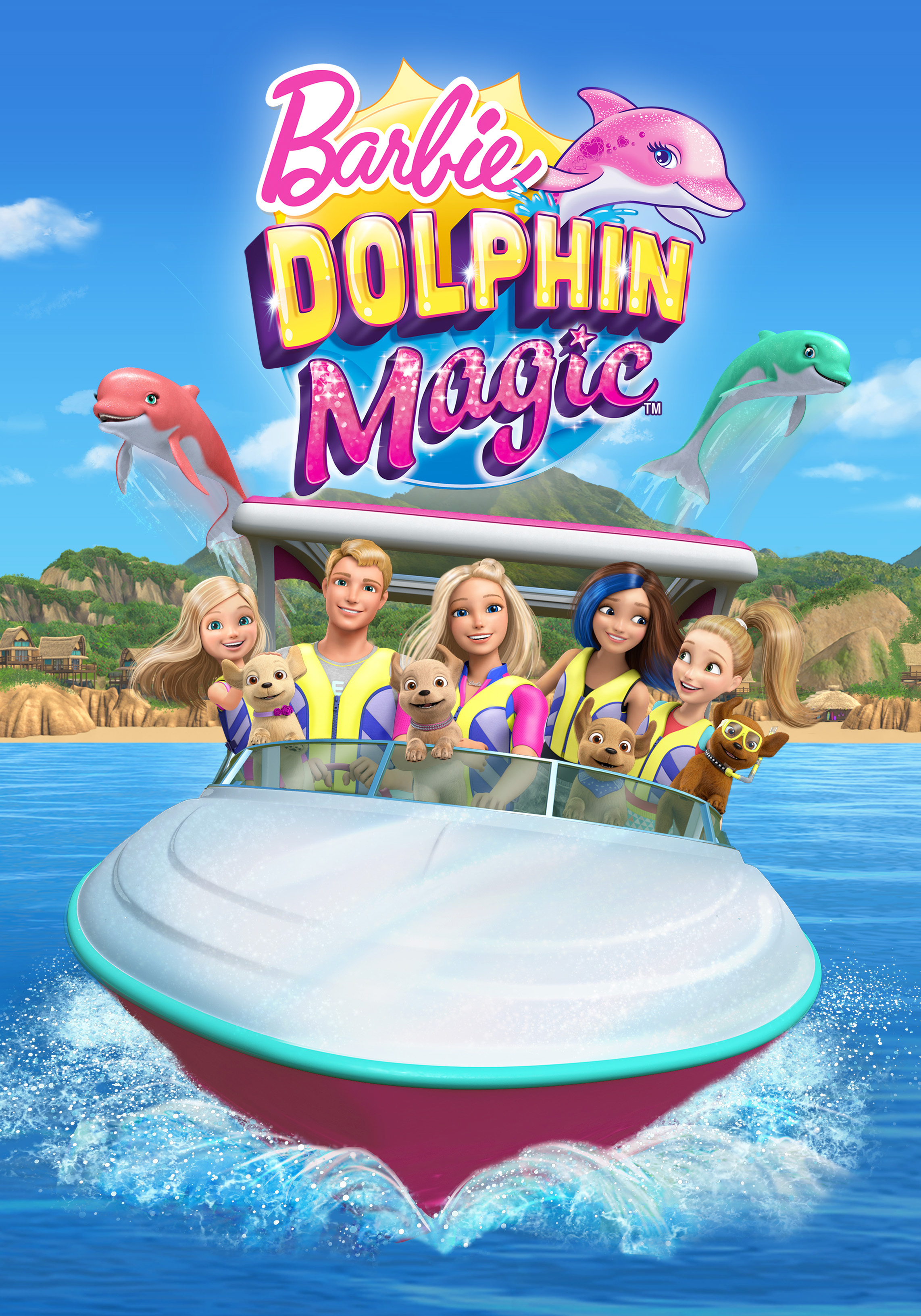 Barbie: Dolphin Magic (2017) WEBRip 720p