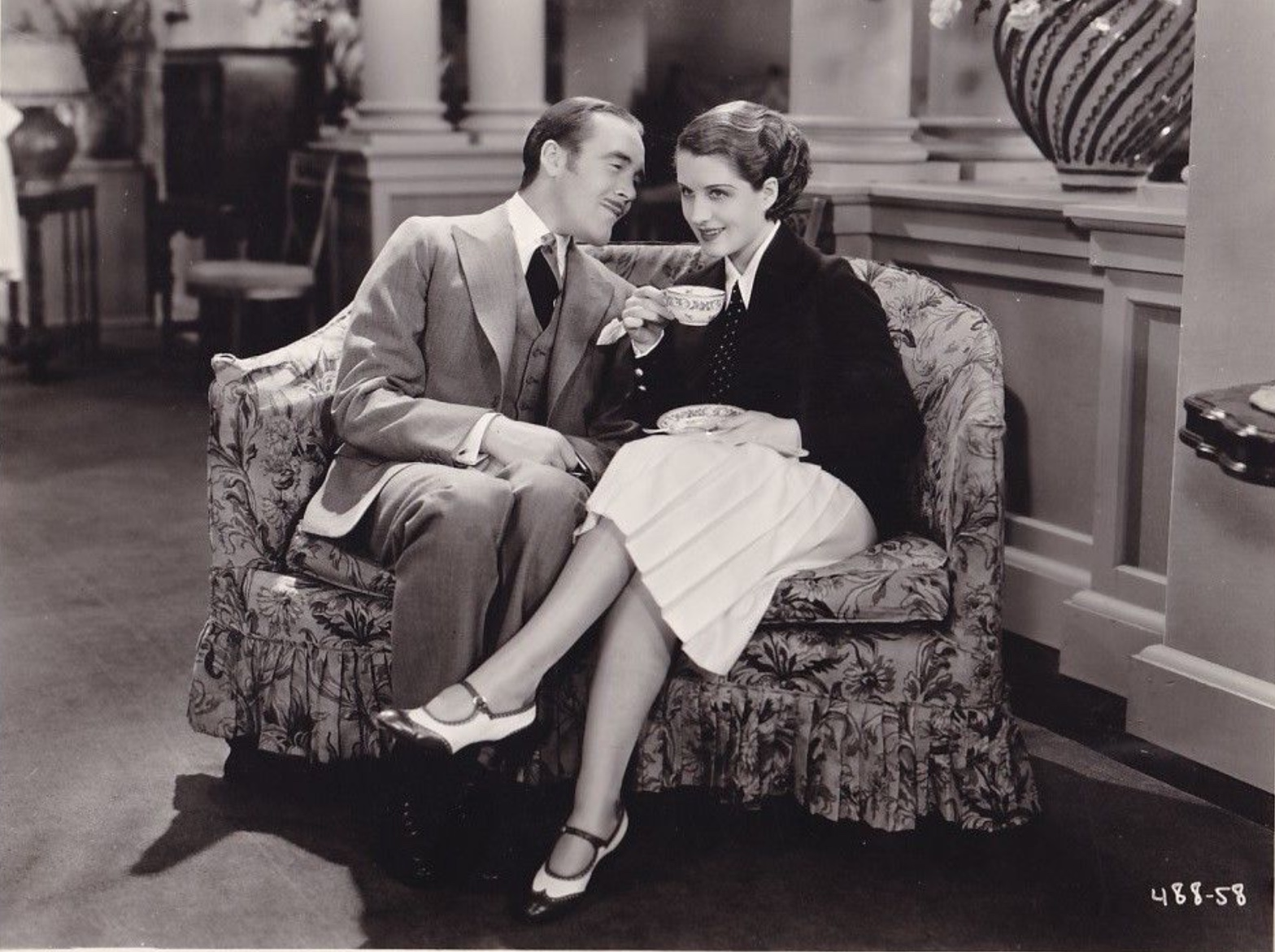 Tyrell Davis and Norma Shearer in Let Us Be Gay (1930)