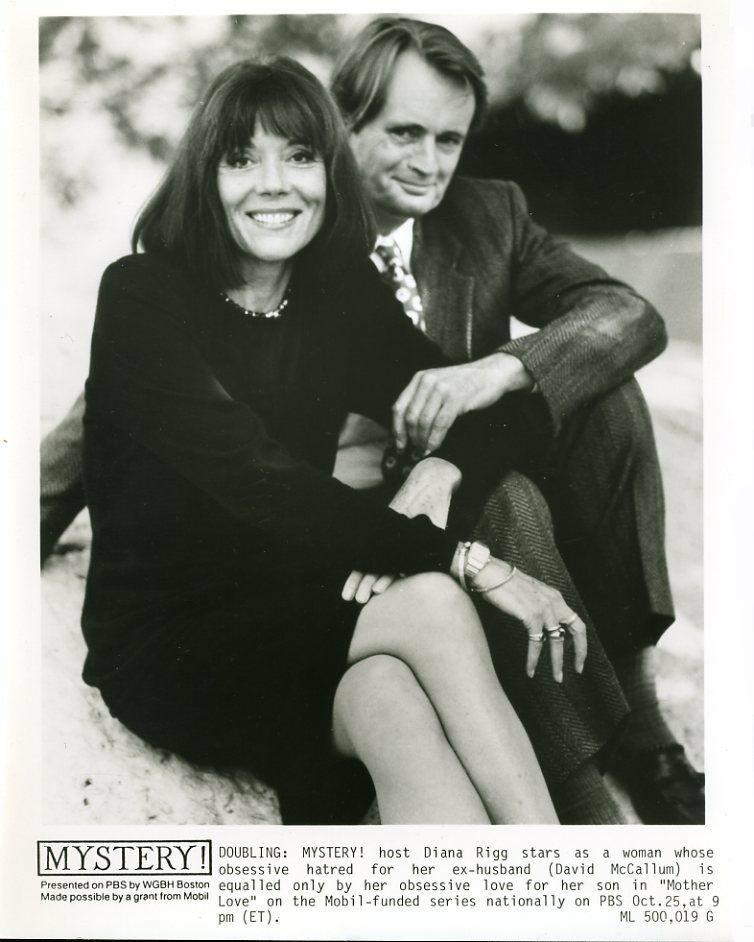 Diana Rigg and David McCallum in Mystery! (1980)