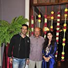 Rajniesh Duggall and Sonarika Bhadoria at an event for Saansein: The Last Breath (2016)