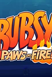 Bubsy: Paws on Fire! Poster