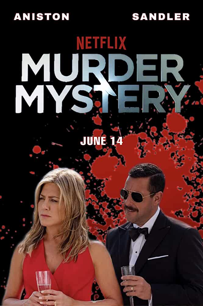 Murder Mystery 2019 720p NF WEBRip Dual Audio [Hindi + English] DD 5.1 MSUBS