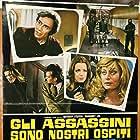 Livia Cerini, Anthony Steffen, Margaret Lee, and Luigi Pistilli in Gli assassini sono nostri ospiti (1974)